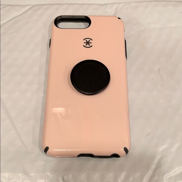 best loved 088ba 202a1 Speck iPhone 8 Plus case with pop socket